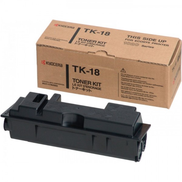 Reincarcare cartus toner KYOCERA TK18 negru