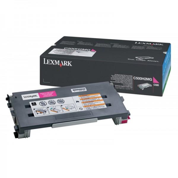 Reincarcare cartus toner LEXMARK C500H2C / C500S2C magenta (Lexmark C500, X500, X502)